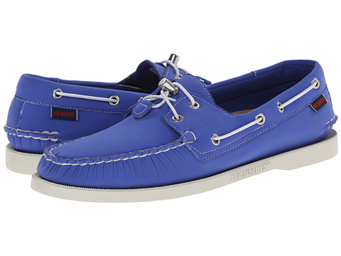 Sebago - Dockside Neoprene (Blue Neoprene) Men