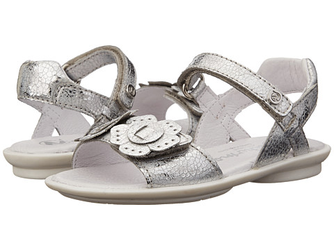 Naturino - 3867 USA SP15 (Toddler/Little Kid/Big Kid) (Silver) Girl