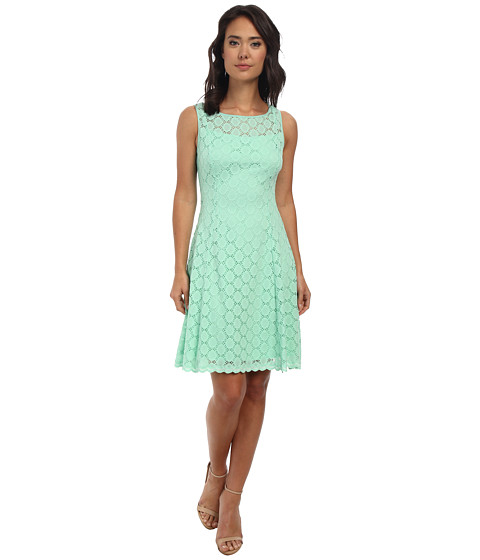 rsvp - Heartlines Lace Dress (Mint) Women's Dress