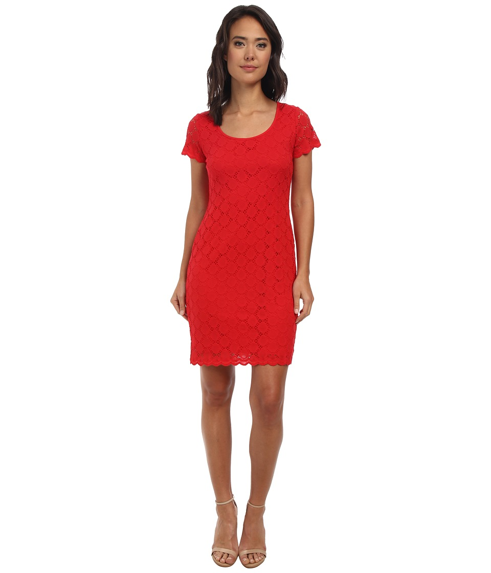 rsvp - Tammy Lace Dress (Red) Women's Dress