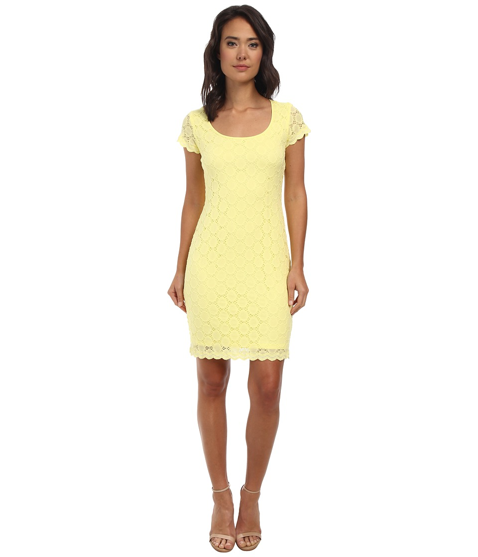 rsvp - Tammy Lace Dress (Yellow) Women's Dress