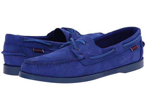 Sebago - Dockside (Bright Blue Nubuck) Men's Shoes