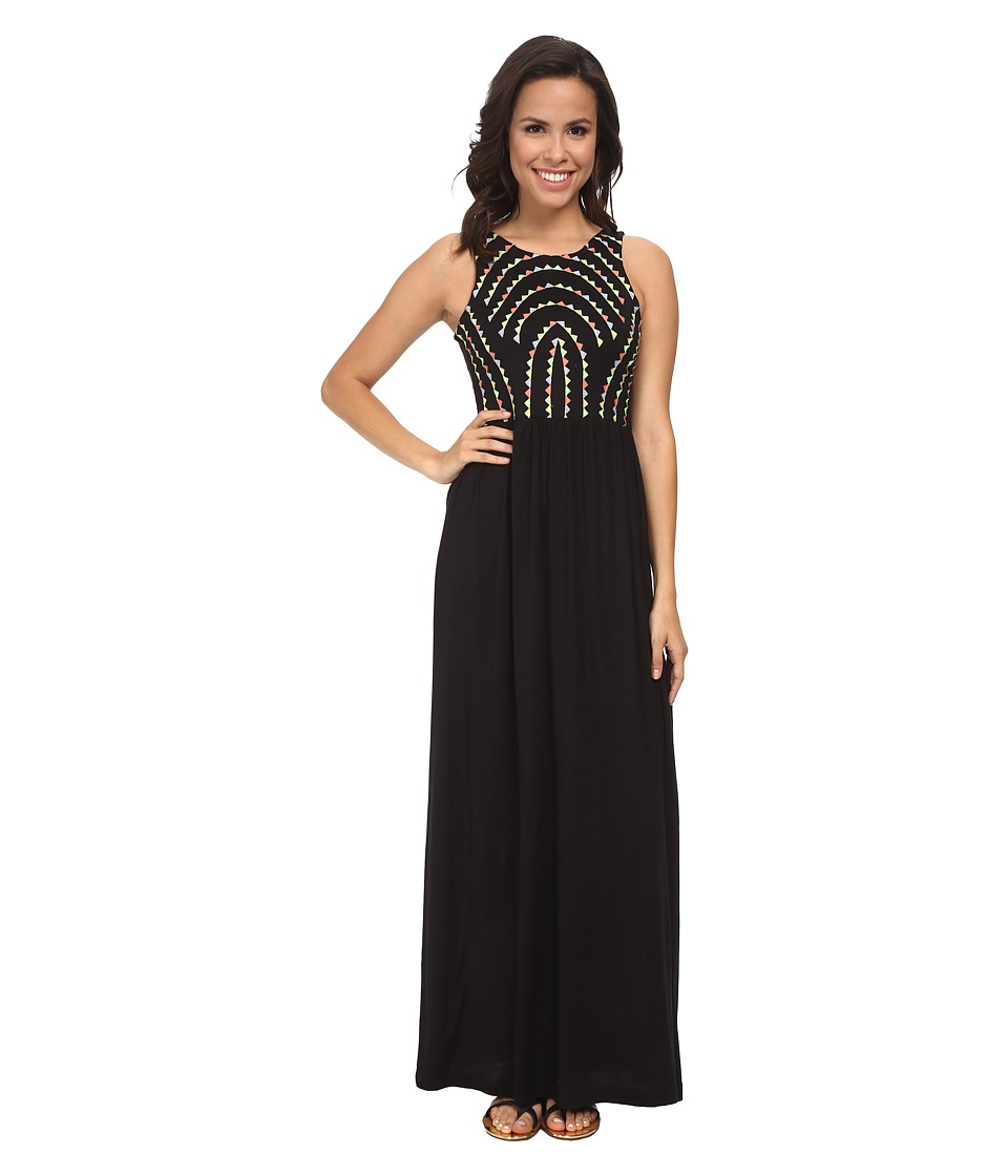 Brigitte Bailey - Gelato Maxi Dress (Black Combo) Women's Dress