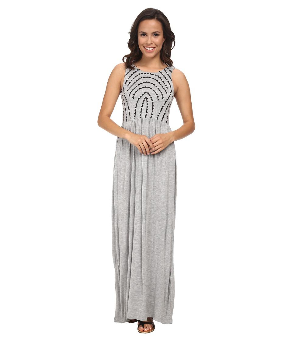 Brigitte Bailey - Gelato Maxi Dress (Grey Combo) Women's Dress