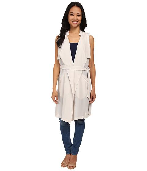 Brigitte Bailey - Popover Vest (Pale Silver) Women's Vest
