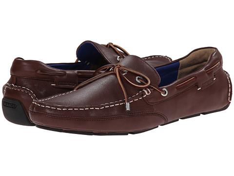 Sebago - Kedge Tie (Dark Brown Leather) Men