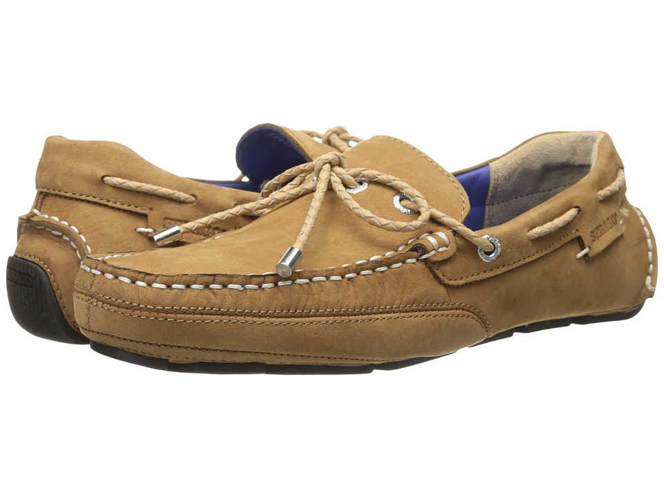 Sebago - Kedge Tie (Tan Nubuck) Men's Shoes
