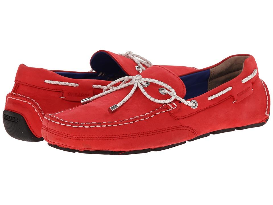 Sebago - Kedge Tie (Red Nubuck) Men's Shoes