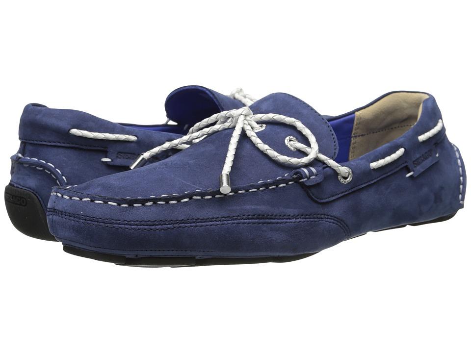 Sebago - Kedge Tie (Navy Nubuck) Men's Shoes
