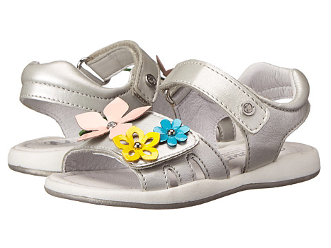Naturino - 3863 USA SP15 (Toddler/Little Kid) (Silver) Girl's Shoes