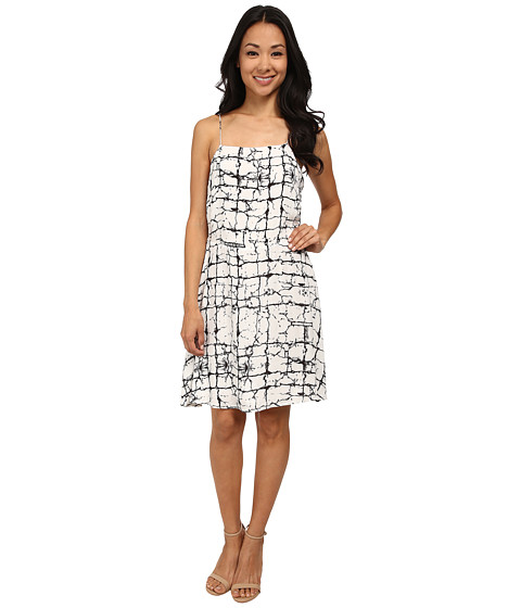 Brigitte Bailey - Angelica Tie-Dye Dress (Black/White) Women's Dress