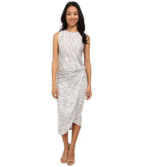 Brigitte Bailey - Heather Tea Length Dress (Light Heather Grey) Women's Dress