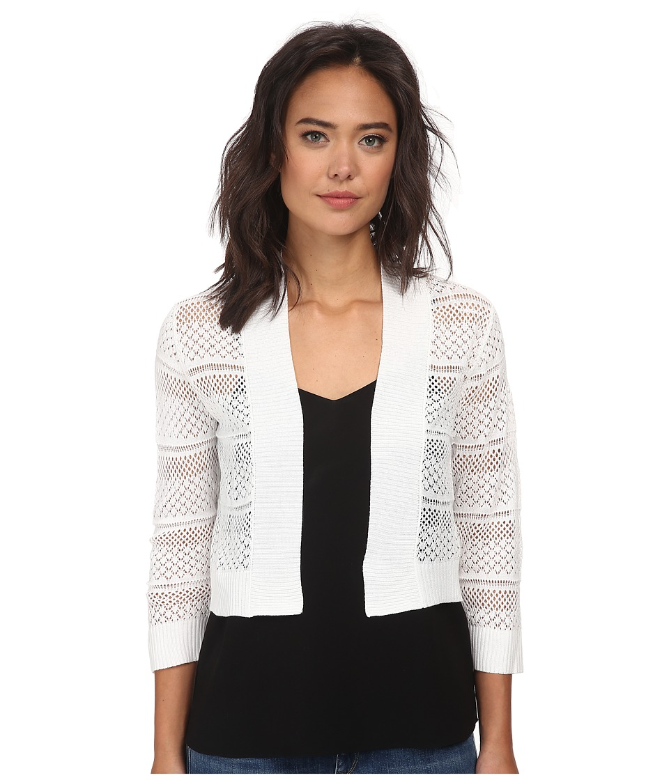 rsvp - Bre Crochet Shrug (Ivory) Women's Sweater