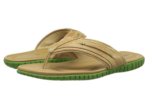 Sebago - Becket Thong (Taupe Leather) Men