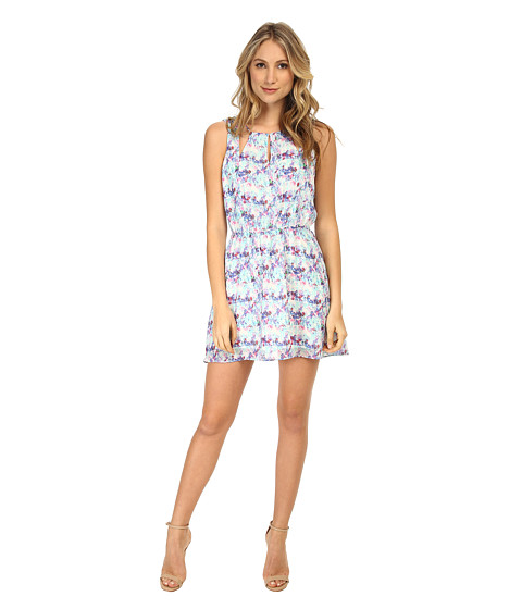 Gabriella Rocha - Floral Violets Dress (Aqua Pool Multi) Women's Dress