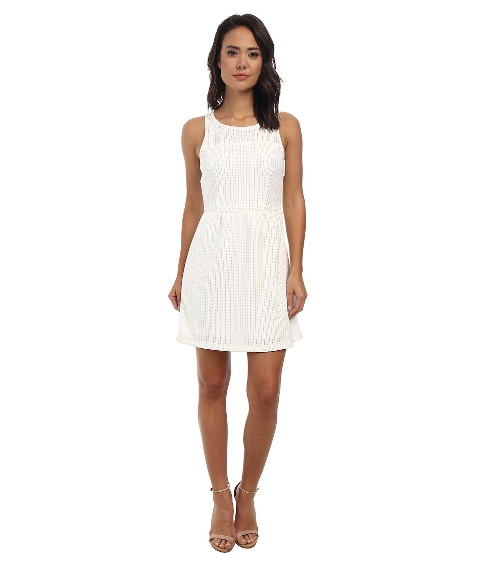 Gabriella Rocha - Amber Fit and Flare Dress (White) Women's Dress