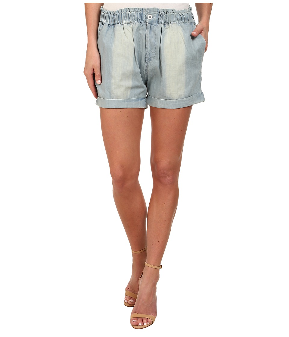 Gabriella Rocha - Faded Denim Short (Sun Faded Blue) Women's Shorts
