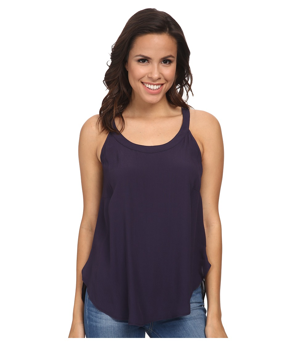 Gabriella Rocha - Chicory Draped Tank Top (Deep Navy) Women