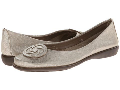 The FLEXX - Bon Bon (Gold Saffio) Women's Flat Shoes