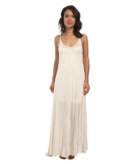 Culture Phit - Allison Basic Maxi Dress (Heather Oatmeal) Women