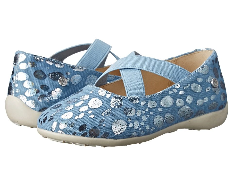 Naturino - 2815 USA SP15 (Toddler/Little Kid/Big Kid) (Blue) Girl's Shoes