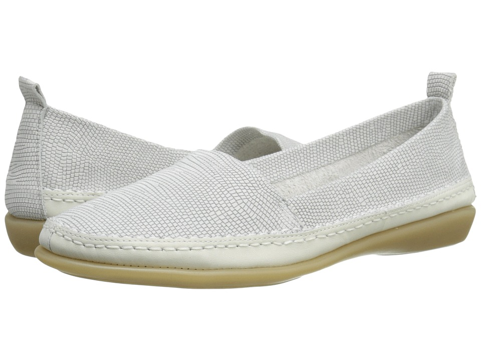 The FLEXX - Mr Right (White Ariel/Elba) Women's Flat Shoes