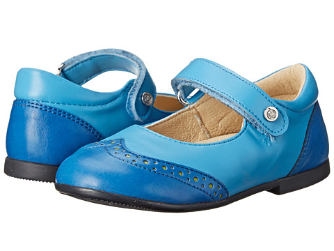 Naturino - 3830 USA SP15 (Toddler) (Blue) Girls Shoes
