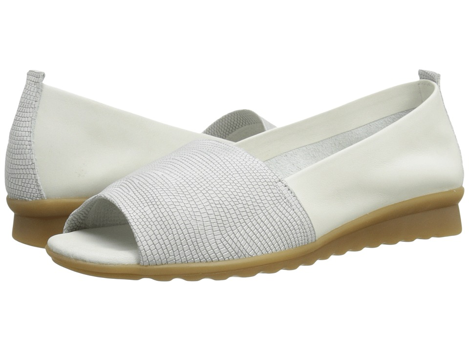 The FLEXX - Fantastic (White Ariel/Elba) Women's Flat Shoes