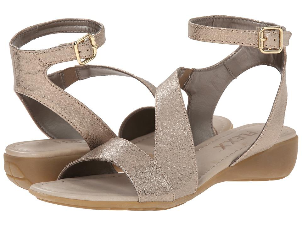 The FLEXX - Gladding (Gold Tris) Women's Sandals