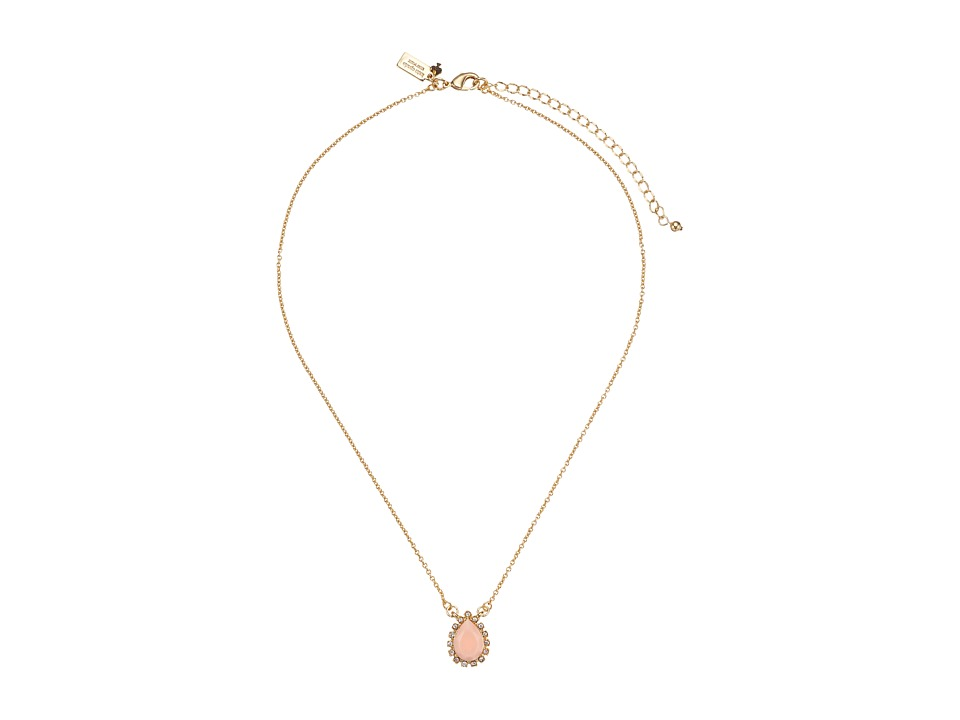 Kate Spade New York - Balloon Bouquet Mini Pendant Necklace (Blush) Necklace
