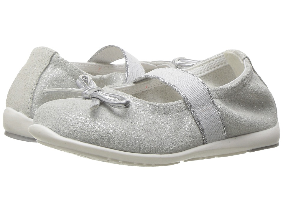 Primigi Kids - Eulalia 2-E (Toddler) (Silver) Girl's Shoes