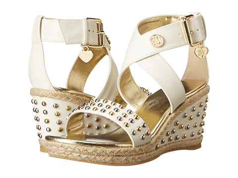 Stuart Weitzman Kids - Swinger (Little Kid/Big Kid) (Vanilla) Girls Shoes