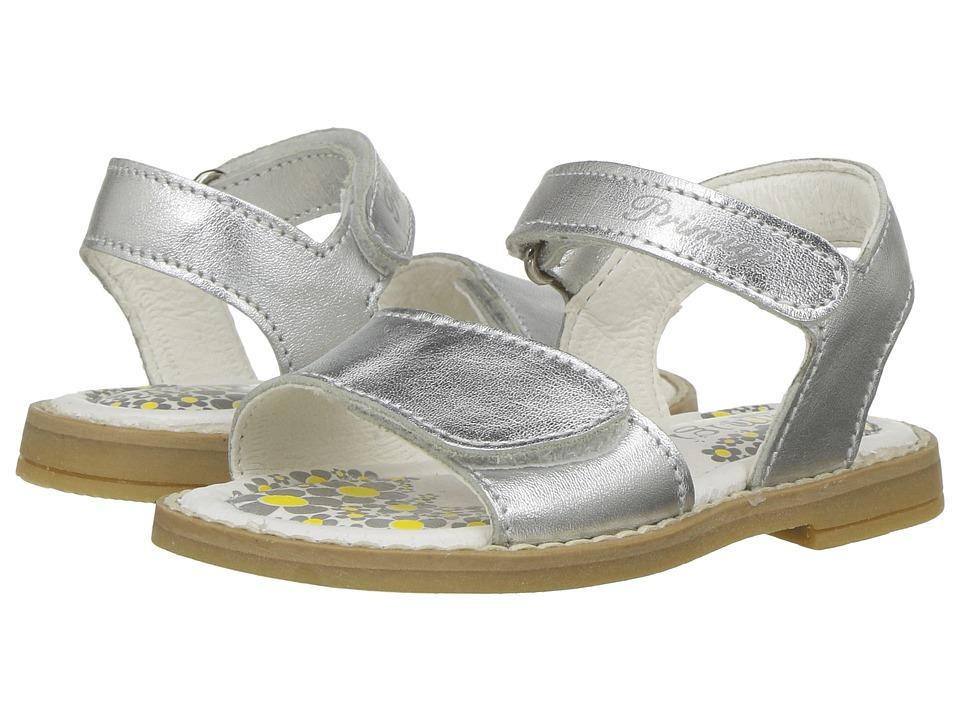 Primigi Kids - Fuji (Toddler) (Silver) Girl's Shoes