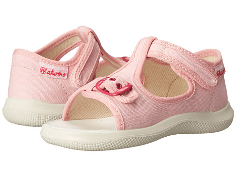 Naturino - 7786 SP15 (Toddler) (Pink Canvas) Girl