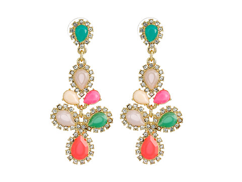 Kate Spade New York - Balloon Bouquet Chandelier Earrings (Multi) Earring