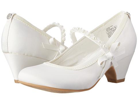 Stuart Weitzman Kids - Verna Vida (Little Kid/Big Kid) (White) Girls Shoes