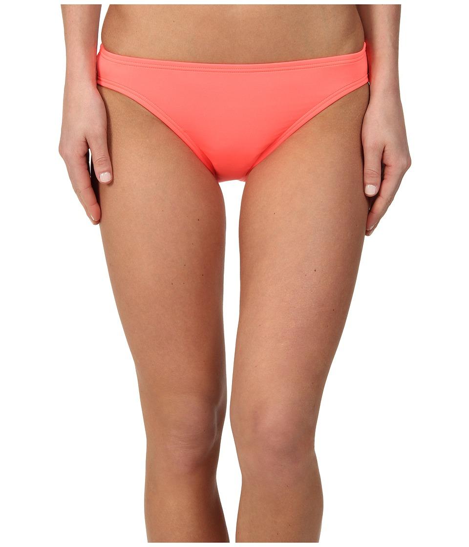 DKNY - Solid Block Classic Bottom (Strike) Women's Swimwear