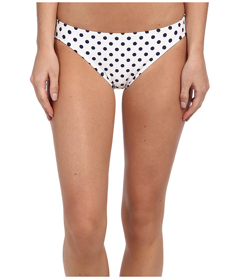 DKNY - Lets Hear It For The Dots Classic Bottom (White) Women