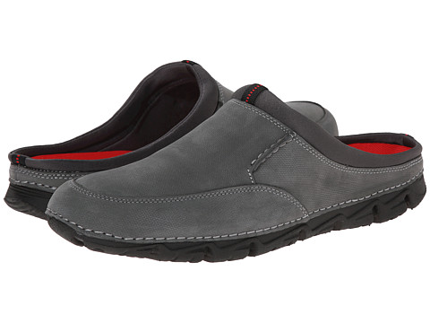 Rockport - Rocsports LT2 Mule (Grey) Men's Slip on Shoes