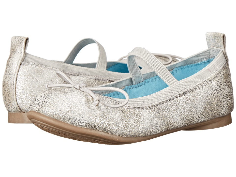 Kenneth Cole Reaction Kids - Copy Tap 2 (Toddler/Little Kid) (Silver 2) Girls Shoes