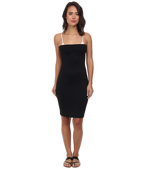 DKNY - Solid Selection Convertible Cover-Up (Black) Women