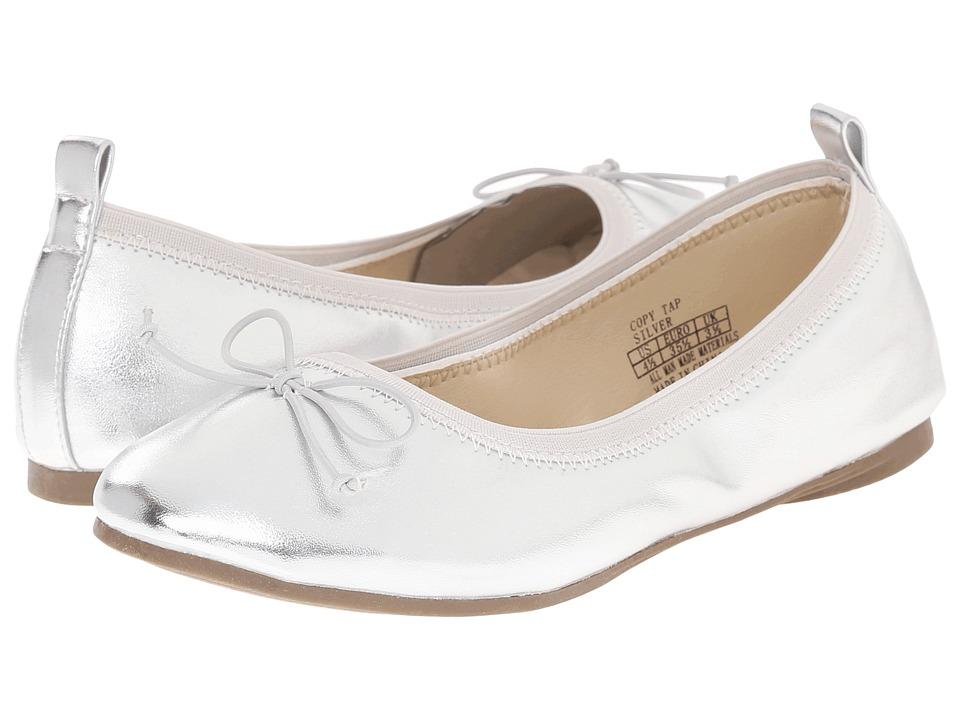 Kenneth Cole Reaction Kids Copy Tap (Little Kid/Big Kid) (Silver 2) Girls Shoes