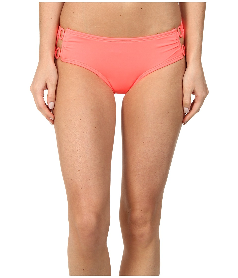 DKNY - Cover Ring Solids Hipster Bottom (Strike) Women's Swimwear