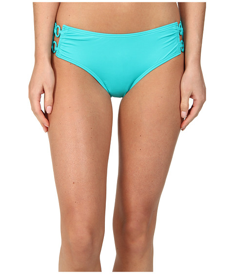 DKNY - Cover Ring Solids Hipster Bottom (Jade) Women