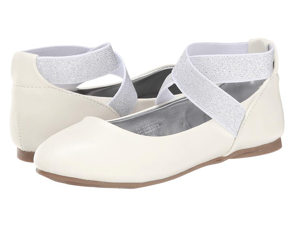 Kenneth Cole Reaction Kids - Tap UR It (Little Kid/Big Kid) (White) Girls Shoes