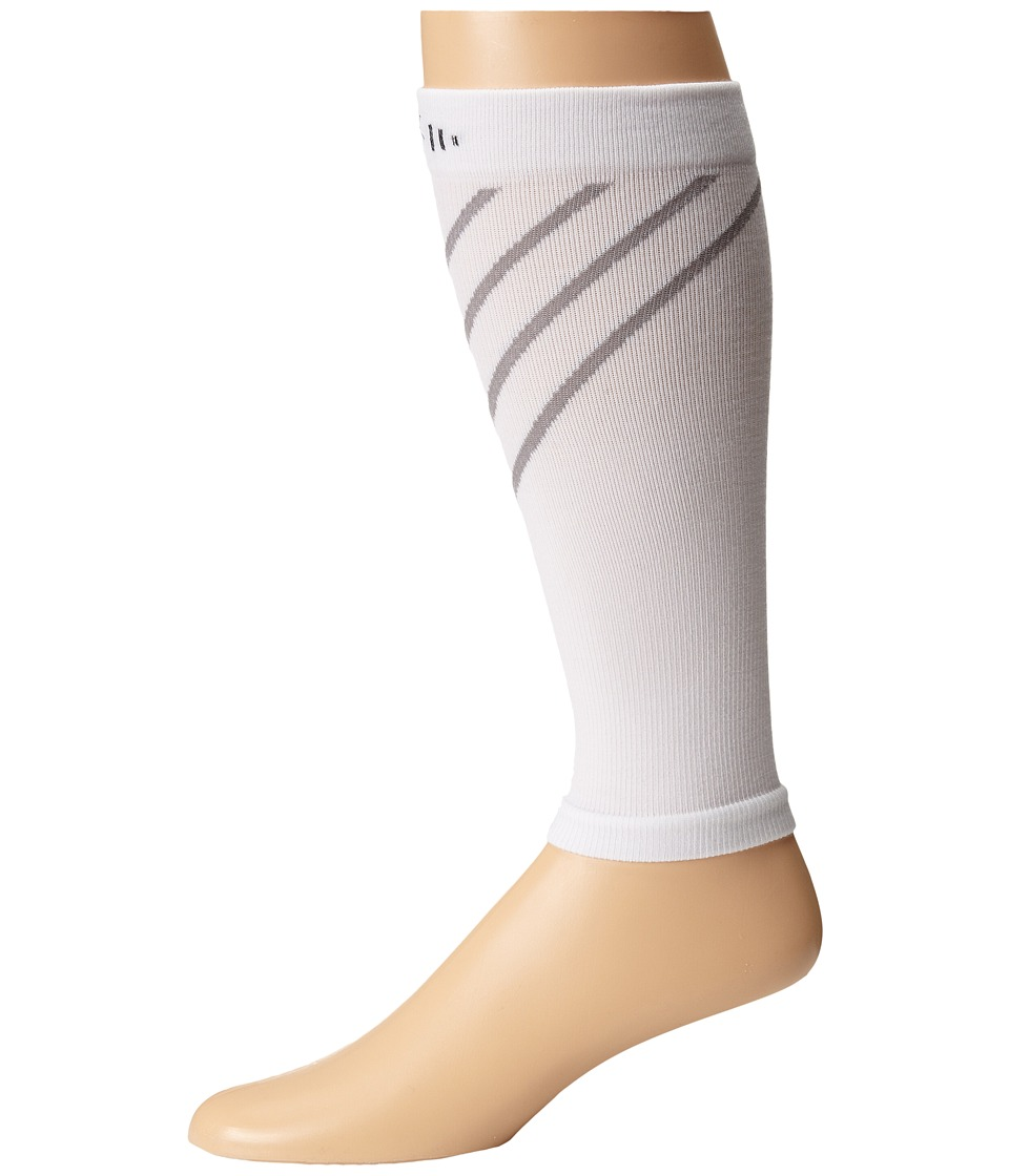 Smartwool - PhD Compression Calf Sleeve (White) Outdoor Sports Equipment