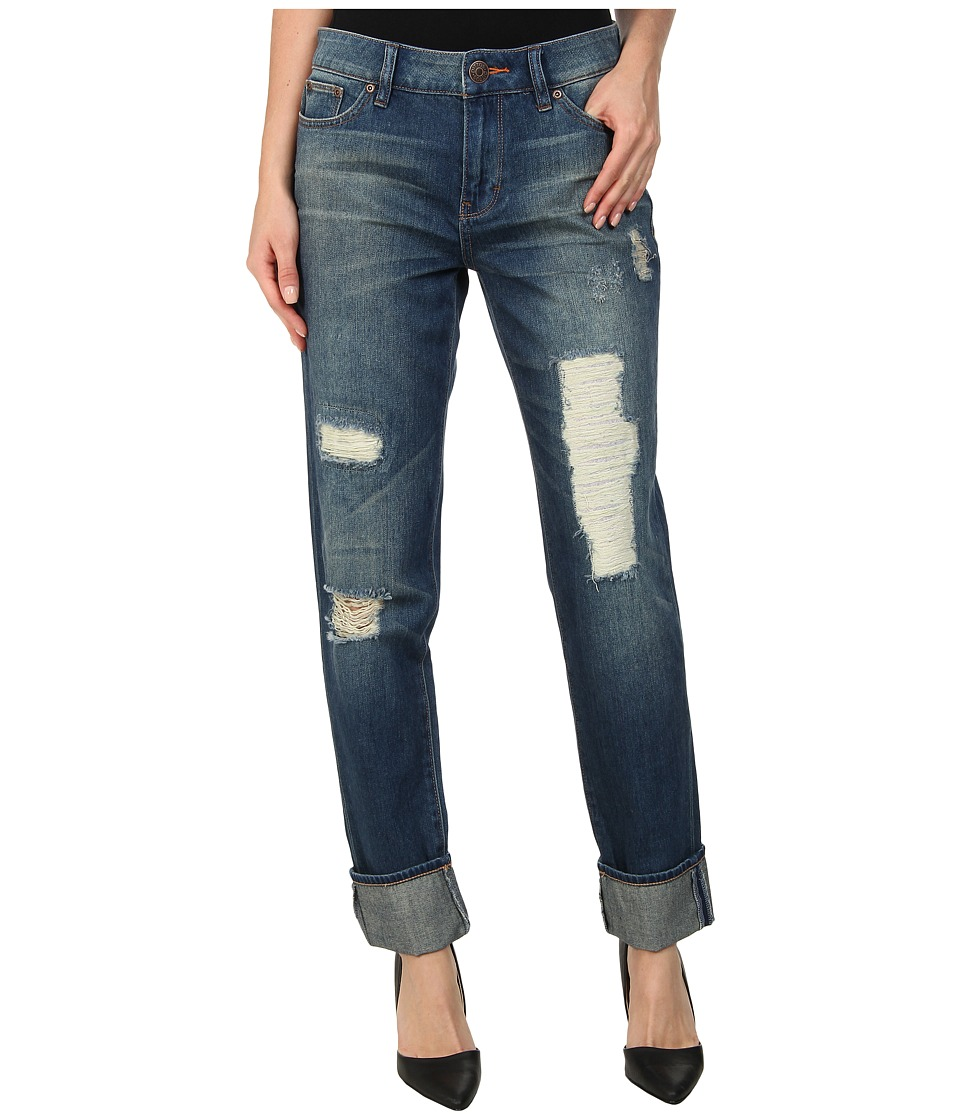 Dittos - Asher Relaxed Straight (Vintage Destructed) Women's Jeans