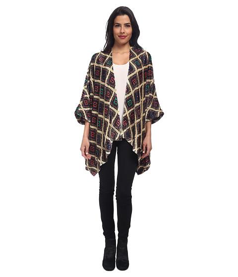 Chaser - Velvet Kimono (Paisley) Women's Sweater