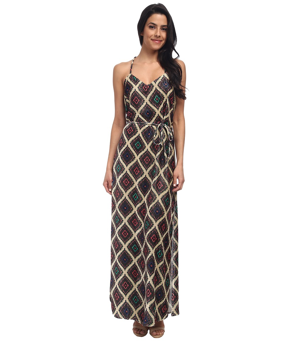 Chaser - Cross Back Maxi Dress (Paisley) Women's Dress