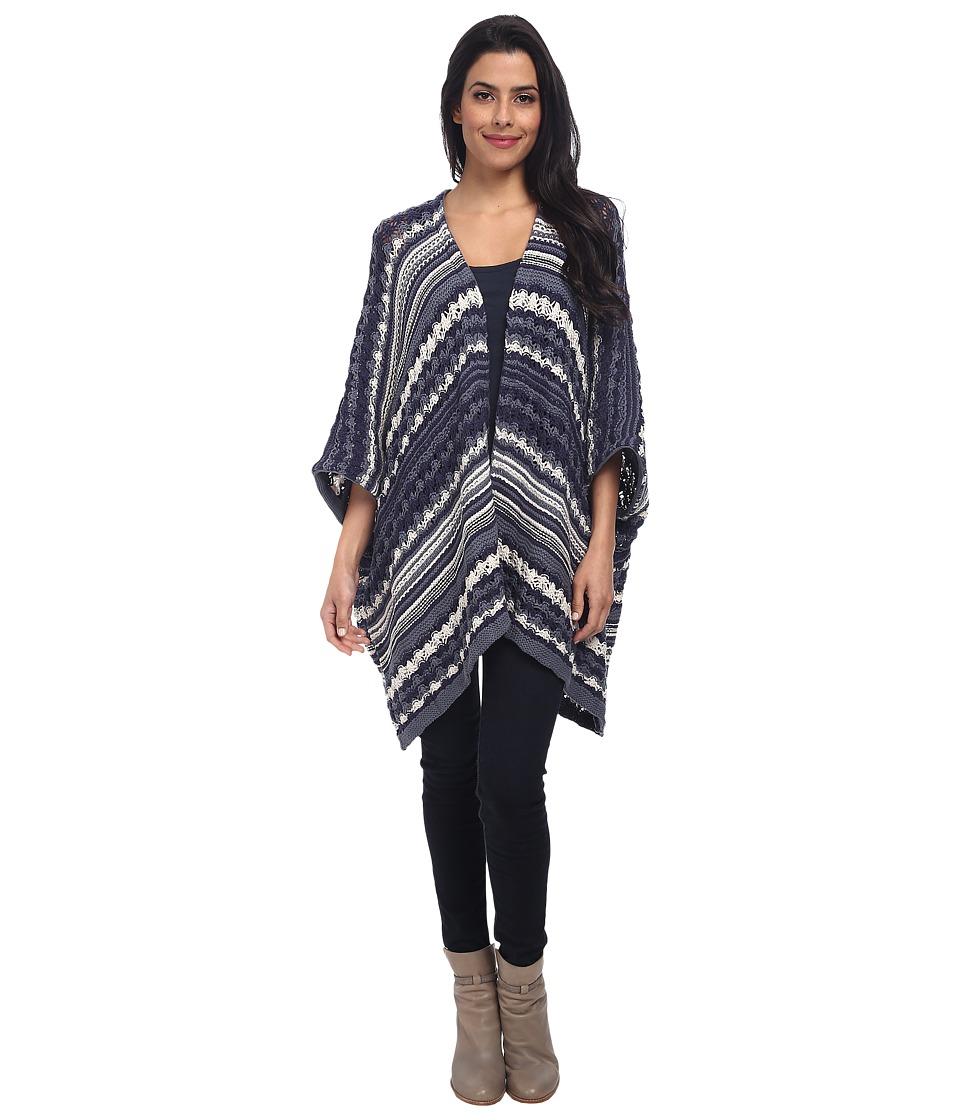 Chaser - Baja Blanket Sweater Kimono (Baja Knit) Women's ...